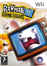 Rayman Raving Rabbits TV party