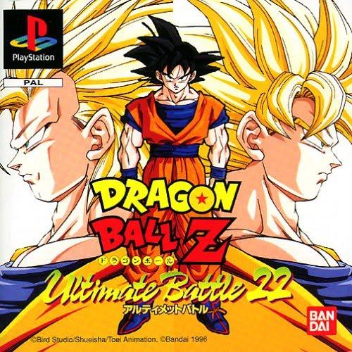 Dragon Ball Z-Ultimate Battle 22 portada