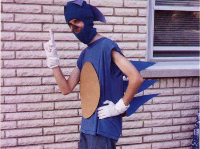 Ideas de Cosplay para la Mafia en el próximo gamefest. parte 1. Sonic-cutre-cosplay