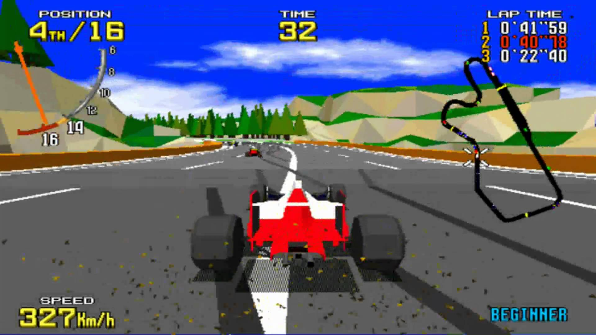 virtua racing arcade