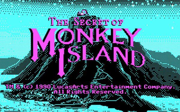 Monkey island EGA