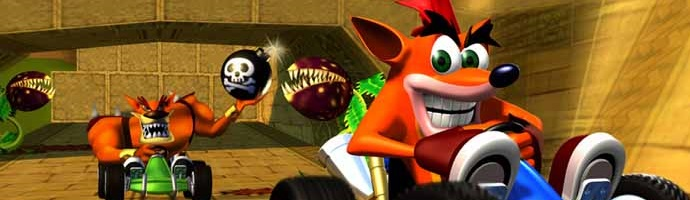 Crash Team Racing cabecera