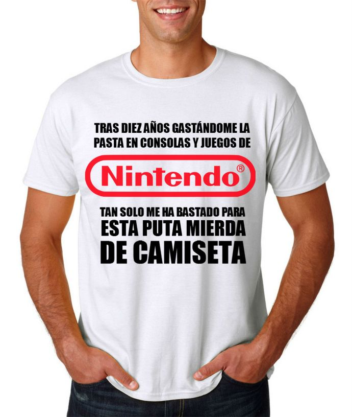 CAMISETA CLUB NINTENDOLR