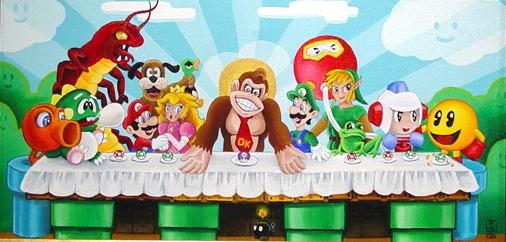Donkey Kong Last Supper