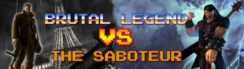 sABOTEUR vs BRUTAL LEGEND copia