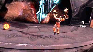 god of war 3 pantalla