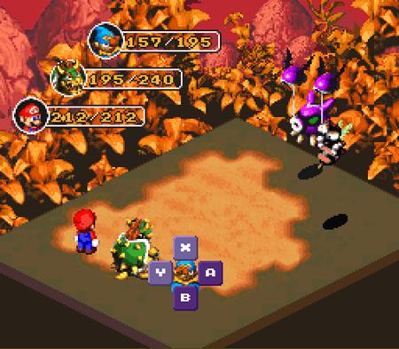 Super Mario RPG.