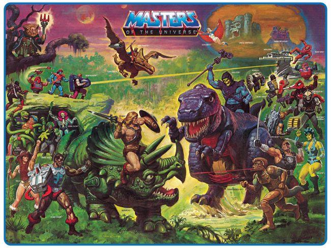 He man & dinosaurs