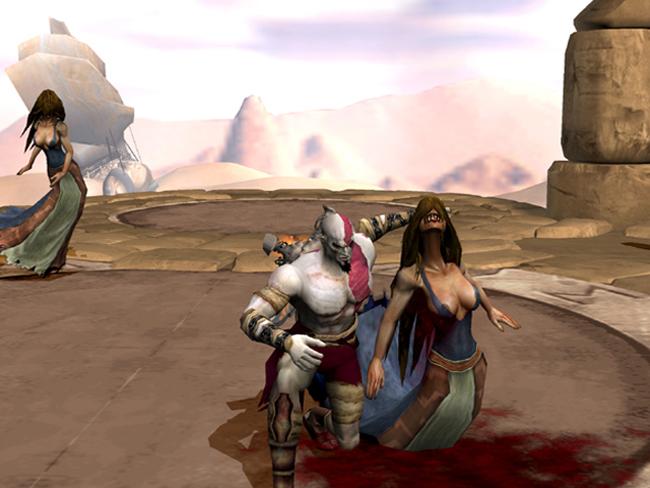 sirena god of war